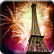 2018 Christmas New Year Fireworks Live Wallpaper