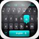 Simple Black Keyboard by Keyboard Theme Factory
