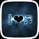 I Love Music Theme by Huizhang Theme