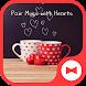 Love Wallpaper Pair Mugs with HeartsTheme