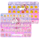 Pink Glitter Unicorn Emoji Keyboard Theme by Keyboard themes