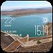Agadir weather widget/clock by Widget Studio