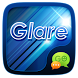 (FREE) GO SMS GLARE THEME by ZT.art