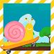 Turbo Snail Boob Skateboard by Mhmapp Studio