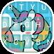 Unicorn Theme&Emoji Keyboard by Emoji GIF Maker Fans