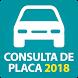 Consulta de Placa 2018