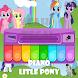 Little Pony Piano - Rainbow Dash by Cah Tegal Dev