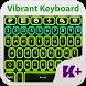Vibrant Keyboard Theme by creativekeyboards