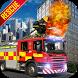 US City Rescue Fireman Simulator-Fire Brigade Game
