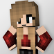 Cute Girl Skins for Minecraft by MineMaps