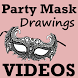 Learn How To Draw Party MASKS Videos App by Ronak Chudasama 1890
