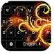 Gold stripe flames golden fire by live wallpaper collection