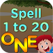 Kids 1 to 20 Numbers Spelling by ValiantKid - Kids Educational and Learning Games