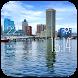 Baltimore weather widget/clock by Widget Dev Team