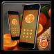 fresh orange fruit theme by cool theme designer