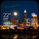 Cleveland weather widget/clock by Widget Dev Team
