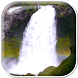 Waterfall Gif With Sound by The World of Digital Clocks
