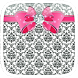 Pink Diamond Bowknot by Heartful Theme