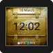 Gold Frame Wear Watch Face by Rainy Frog Designs
