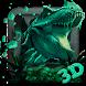 3d World of T-rex dragon theme
