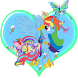 Rainbow Dash My Litle Pony Run by amkin