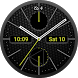 Chrono Carbon Watch Face by Ulrich Schonhardt