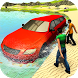 Beach Water Surfer Limousine Car Driving Simulator by Tech 3D Games Studios
