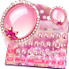 Glitter Pink Diamond Keyboard Theme by Keyboard Design Yimo