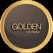 Golden Theme LG G6 G5 V20 V30 by WSTeams