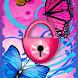 Butterflies Theme GO Locker by Workshop Theme