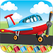 Flying on Plane Coloring Book by longevity