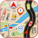 GPS Driving Route Finder by Papaya Apps Studio