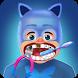 Dentist Baby PjMasks : Cat Boy Boss Captain Mask by dentist baby kids boss