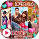 Love Video Maker with Music by Card and Dialer