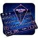 Blue Tech Keyboard by Keyboard Tema Designer