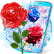 Frozen snow rose live wallpaper by 2018 Live wallpapers
