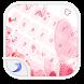Emoji Keyboard-Love Pink by BarleyGame
