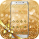 Golden Dream Theme Gold Halo by Fashion Themes Studio