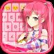 Anime Keyboard Theme by Customize My Phone