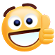 Thumbs Up Sticker Emoji Gif by Funny Sticker Design