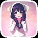 Kawaii Anime Girl by Colorful World