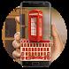 UK phone booth keyboard by Bestheme Keyboard Designer 3D &HD