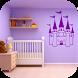 Castle Theme Bedroom by Kosamabi