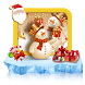 Christmas Snowman Keyboard Theme