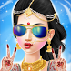 Indian Bride Fashion Wedding Sarees and Makeup by Kid Game Studio