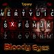 Bloody Ninja Theme&Emoji Keyboard by Cool Keyboard Theme Design