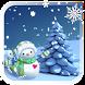Christmas Snowman by The World of Digital Clocks