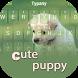 Cute Puppy Theme Keyboard by Typany