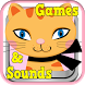 Cat Games For Kids Girls Free by Play N Learn