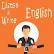 Listen And Write English